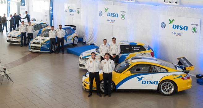 DISA Copi Sport, el 'Dream Team' de los Rallies en Canarias
