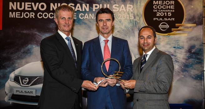 Nissan Pulsar recibe el galardón 'MEJOR COCHE DE CANARIAS'