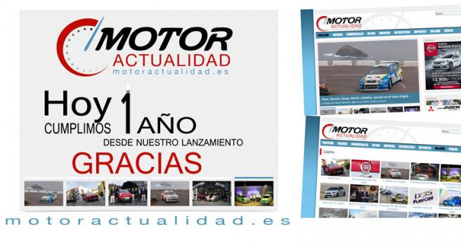 Motor Actualidad celebra el primer aniversario