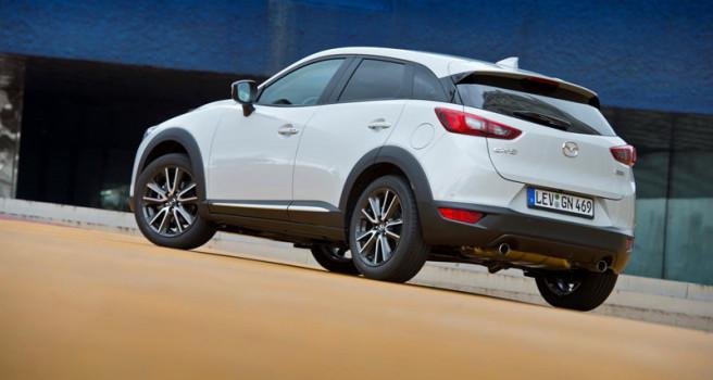 El Mazda CX-3 se comercializará en Canarias en junio