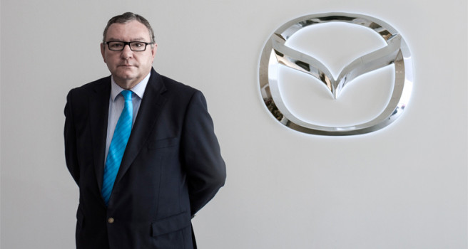 Francisco Trujillo, jefe de ventas Mazda-Tenerife