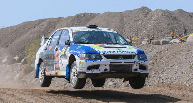 Rally Tierra Gran Canaria, lista de inscritos