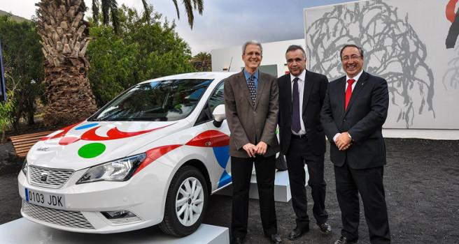 CICAR incorpora los SEAT Ibiza decoración 'César Manrique'