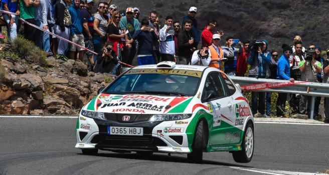 El Rally Isla de Gran Canaria, lista de inscritos