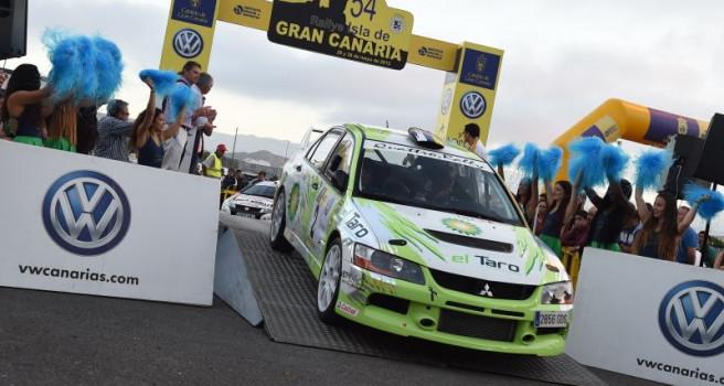 Emotiva Ceremonia de Salida del 54 Rally Isla de Gran Canaria