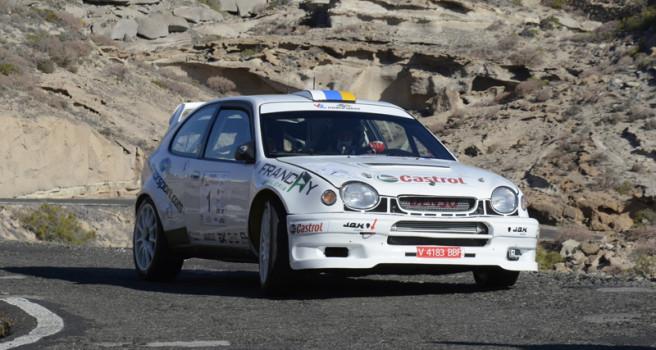 Accidentado final del Rally Villa de Granadilla
