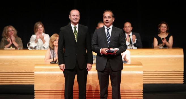 El Rally Islas Canarias recibe la Medalla de Oro de la capital