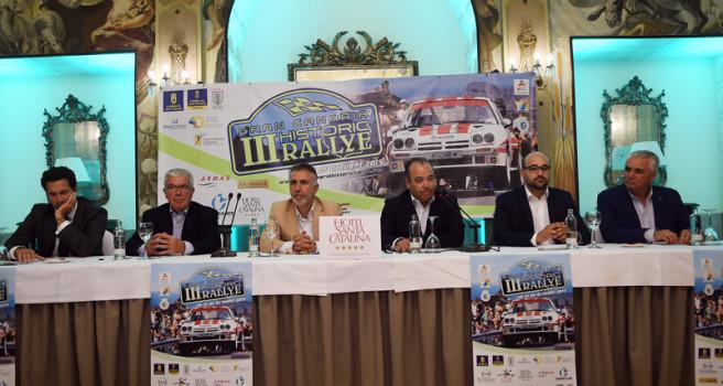 III Gran Canaria Historic Rally, lista de participantes