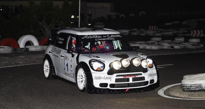 Mikko Hirvonen no da tregua y lidera el Rally Orvecame-isla de Lanzarote