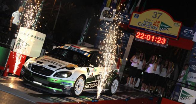 El 40 Rally Islas Canarias, con tramo espectáculo y dos etapas lineales