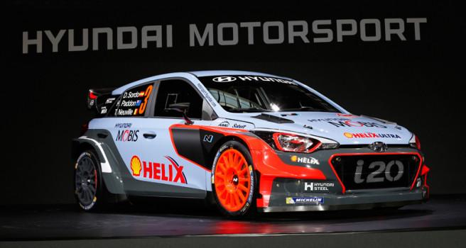 Sordo, Neuville y Paddon estrenarán en el Montecarlo el nuevo i20 WRC