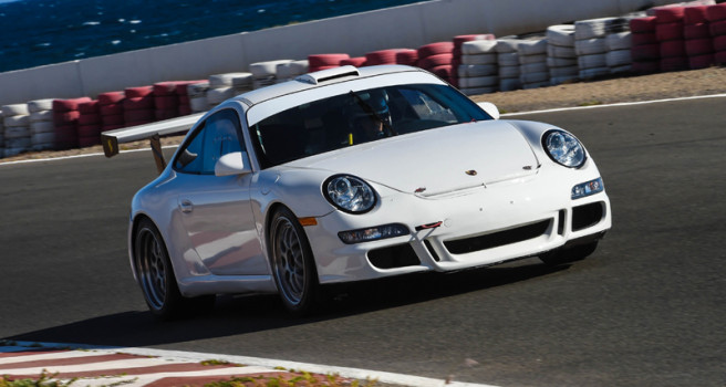 Benjamín Avella, Porsche 911 GT3-2008. Test circuito de Maspalomas