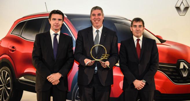 Renault Kadjar reina como 'MEJOR COCHE DE CANARIAS-2016'