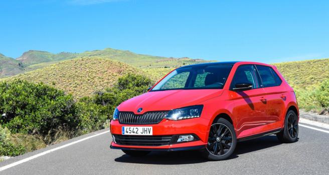 Škoda Fabia Monte Carlo, ADN de rallies