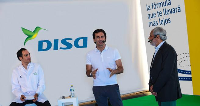 DISA y Pedro de la Rosa presentan el DISAeco en Maspalomas