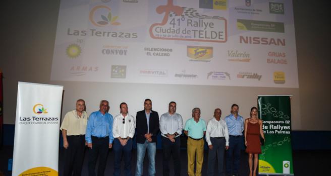 Rally Ciudad de Telde. Lista provisional y presentación