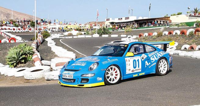 Suárez-Robaina primeros vencedores del Rally Tías-Yaiza