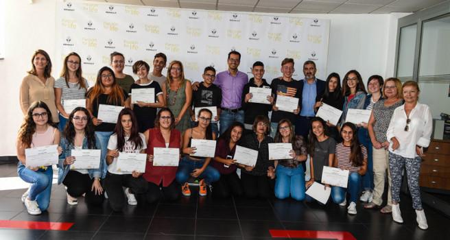 Renault Motor Arisa felicita al IES Saulo Torón