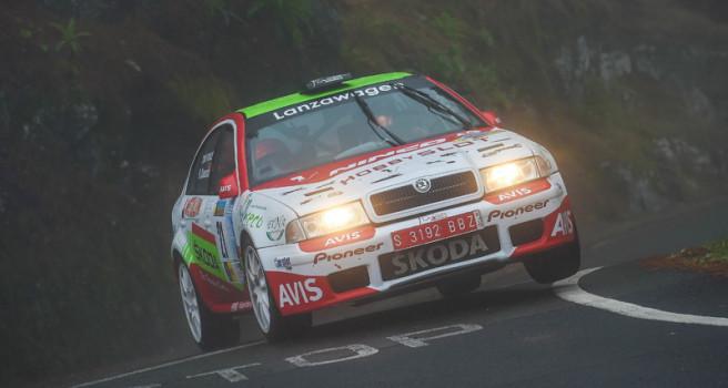 Toñi Ponce y Raúl Quesada ganan el Gran Canaria Historic Rally