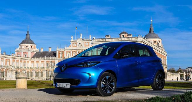 Renault Zoé 100% eléctrico, autonomía de 300 km reales