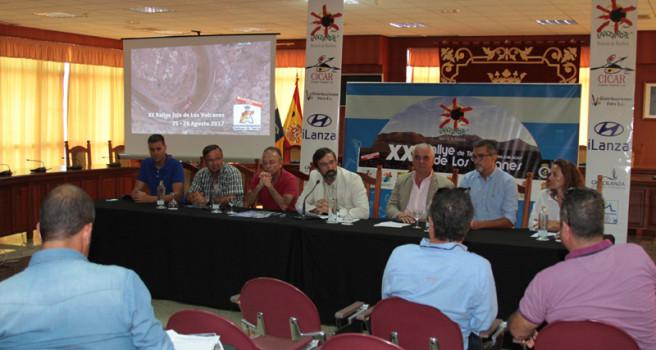 El Rally de tierra de Lanzarote hace un guiño al Nacional