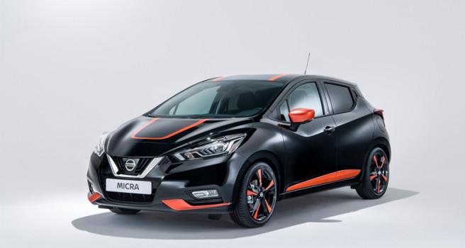 El negro, color predilecto del nuevo Nissan Micra