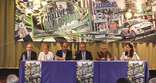 Rally Villa de Teror, acto de presentación