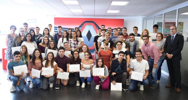 Renault premia al IES Saulo Torón