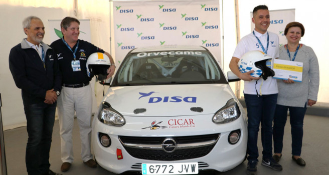Yeray Pérez, nuevo piloto DISA Copi Sport, con ADAM R2
