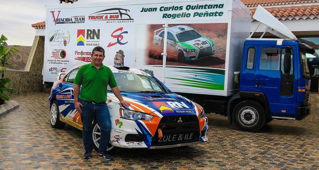 Juan Carlos Quintana en busca de un R5 para 2019