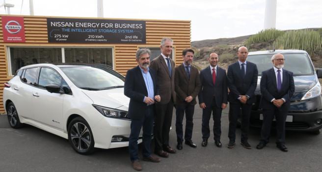 Nissan y el Cabildo de Tenerife, acuerdo movilidad eléctrica