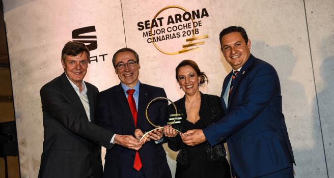 El Seat Arona recibe el premio 'MEJOR COCHE DE CANARIAS'
