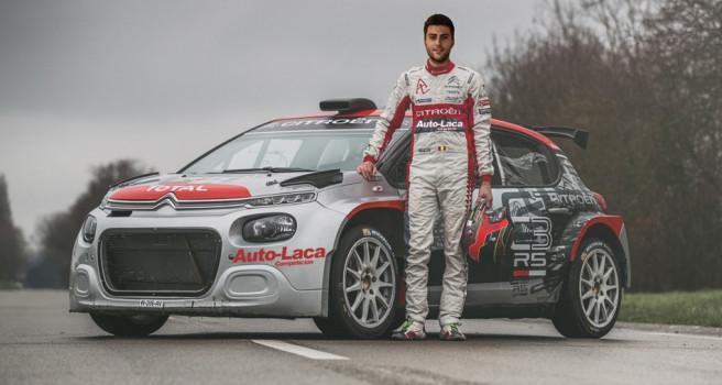Pepe López, piloto elegido para el Citroën C3 R5 de Auto-Laca