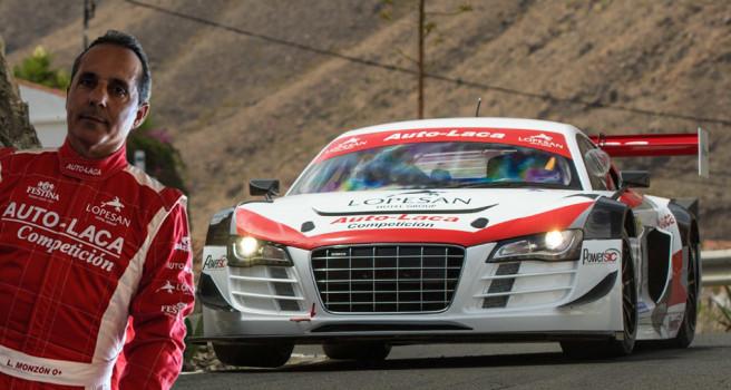 Luis Monzón dedica la victoria a su equipo de 'Auto-Laca'