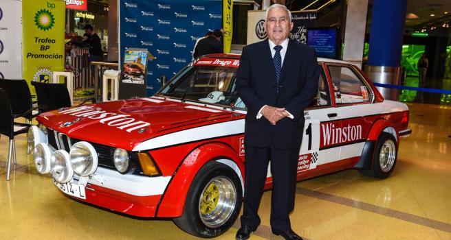 La historia une a Medardo Pérez y al Rally Gran Canaria