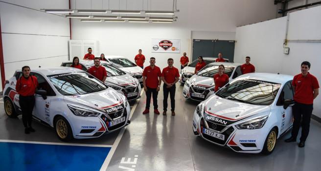 La Copa Nissan Micra entrega las llaves a los 7 equipos