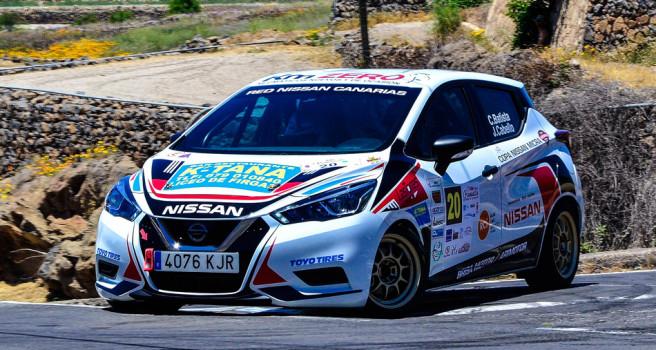 El Rallye Ciudad de la Laguna, cuarta cita de la Copa Nissan Micra