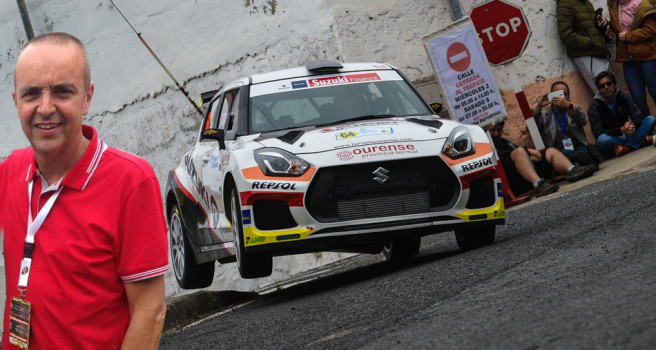 """Manolo Mesa: """"El Suzuki R+ N5 vendrá a Canarias tras el Rally de Madrid"""""""