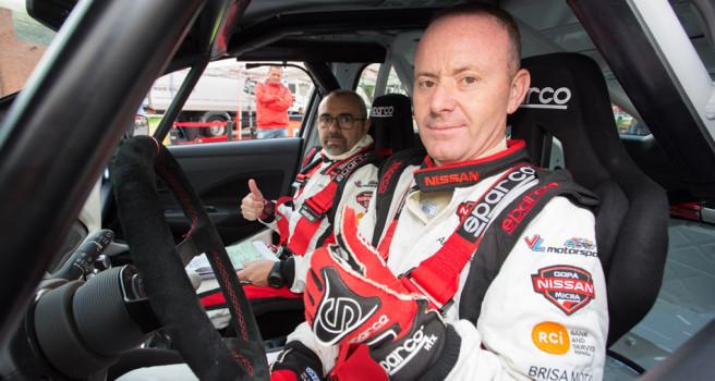 Heriberto Godoy defiende liderato de la Copa Nissan Micra en el Teror