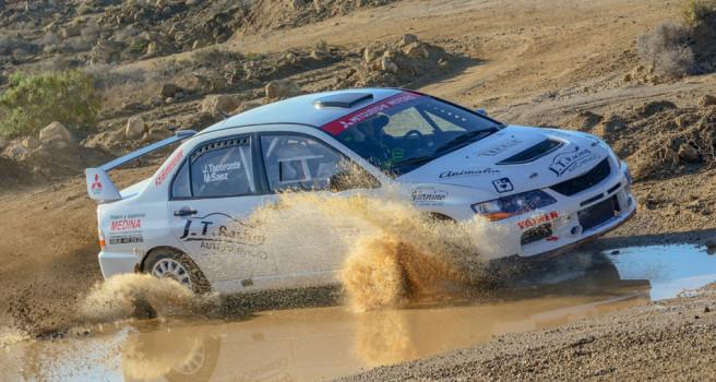 Tacoronte y Sáez muestran poderío en el Rally Tierras del Teide
