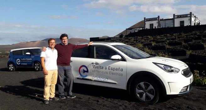 Kia Canarias colabora con la Vuelta España en Coche Eléctrico