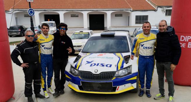 Gustavo Sosa gana en Extremadura con el Skoda Fabia R5