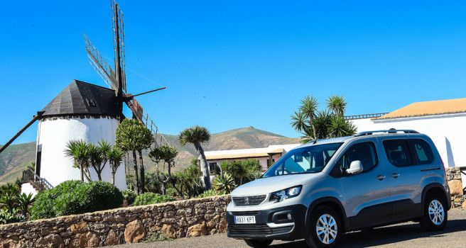 Peugeot Rifter, listo para entrar en acción en su primer invierno