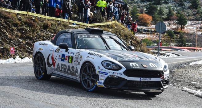 En 2019, el Abarth 124 rally seguirá el Campeonato Europeo de Rally
