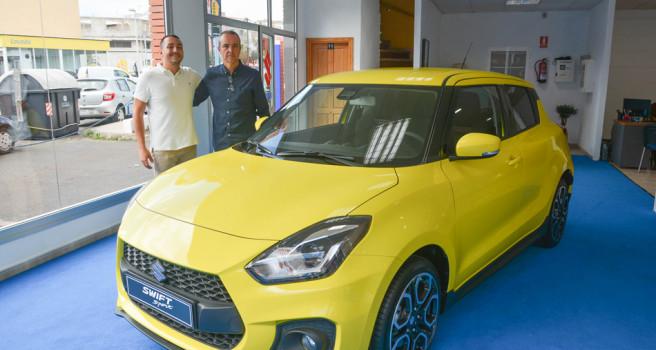 Suzuki FEMOTOR-Tenerife patrocina a Manuel Mesa