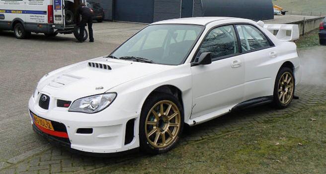 Félix Brito adquiere un espectacular Subaru WRC S12-2007