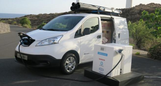 Nissan e-NV200, la furgoneta eléctrica más vendida