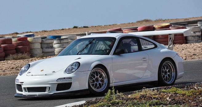 Iván Armas se sube al Porsche GT3-2012. Tests en Maspalomas