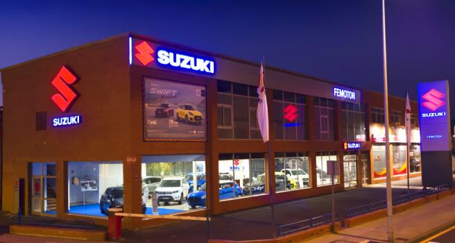 Suzuki FEMOTOR-Tenerife renuevas instalaciones en Los Majuelos