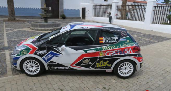 Domi Guerra compra el Peugeot 208 R2 a Manu Naranjo